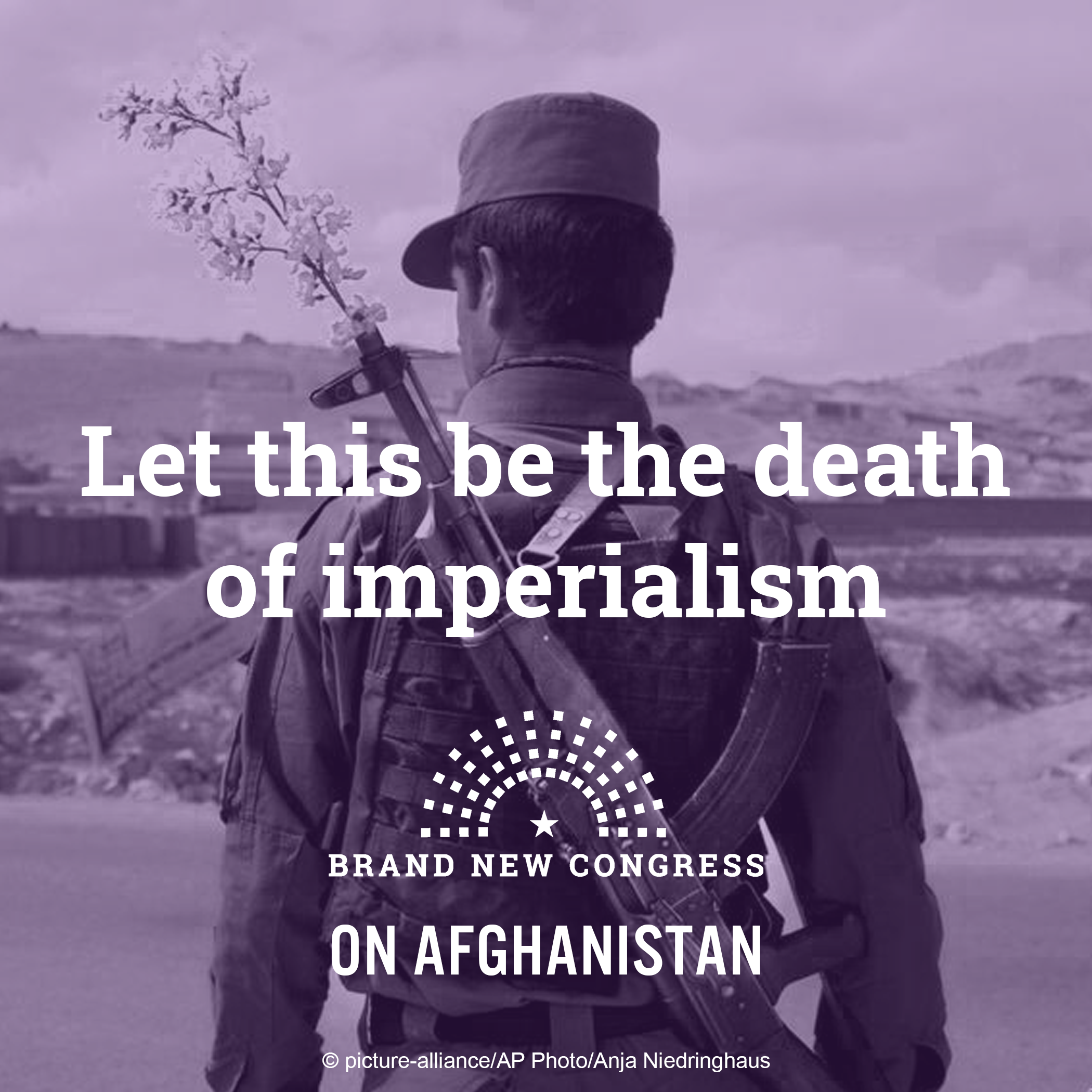 Let this be the death of Imperialism.