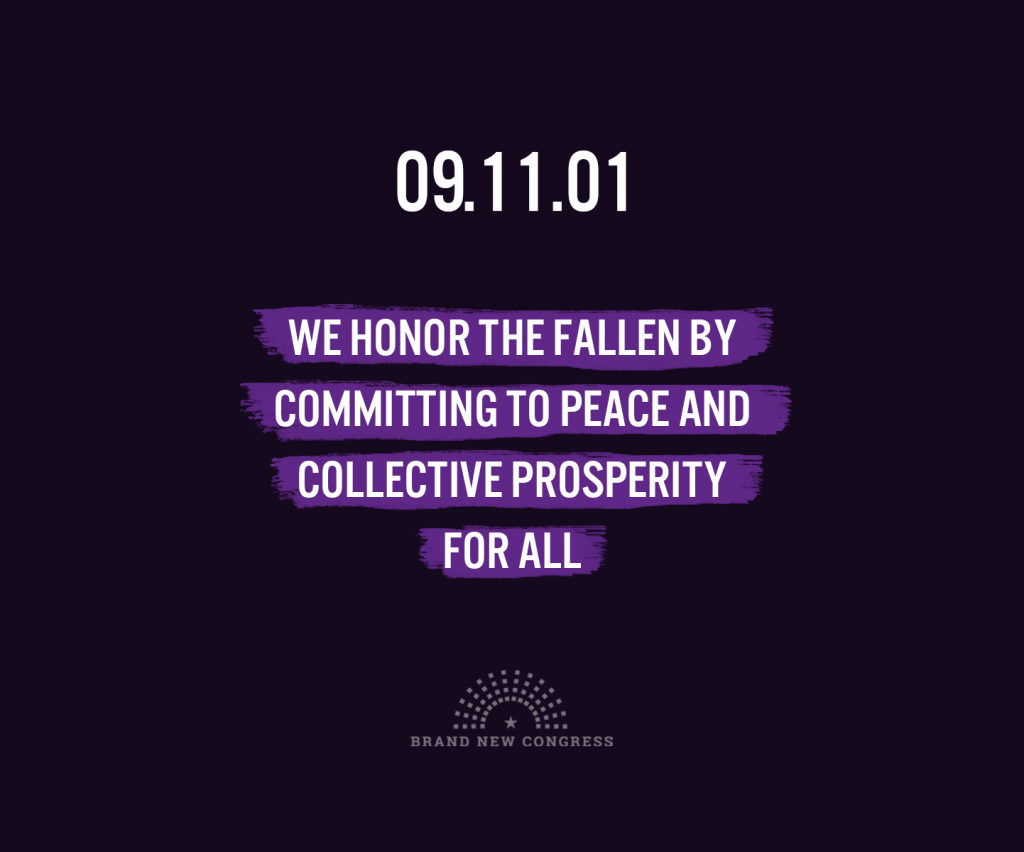 We honor the fallen by committing to peace and collective prosperity for all